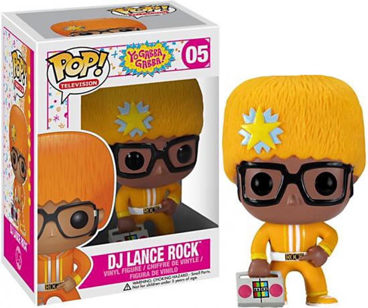 Yo Gabba Gabba Funko POP! TV DJ Lance Rock Vinyl Figure #05