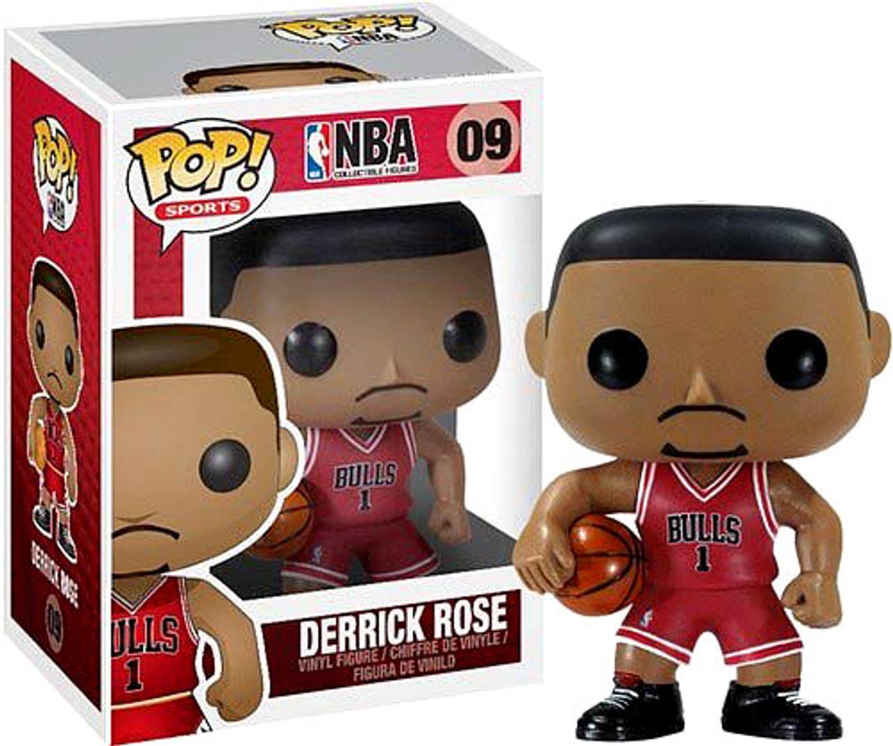 NBA Funko POP! Sports Derrick Rose Vinyl Figure #9