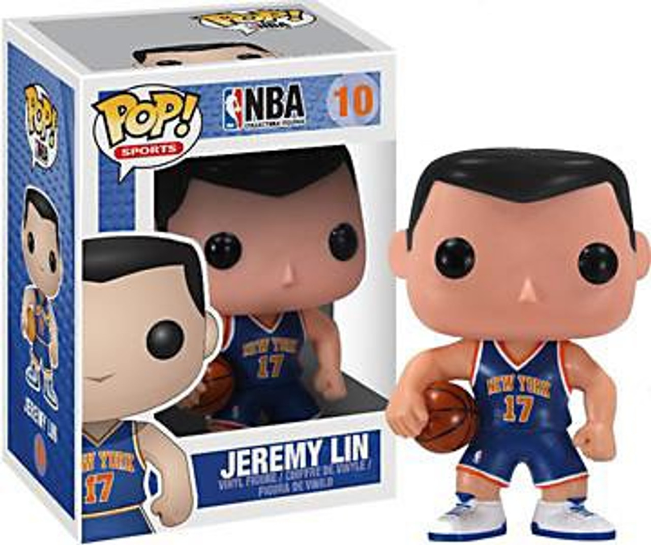 NBA Funko POP! Sports Jeremy Lin Vinyl Figure #10