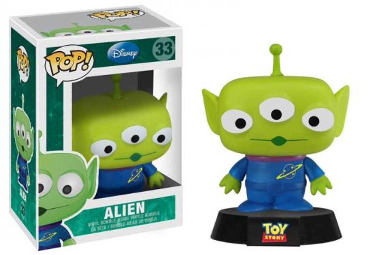Toy Story Funko POP! Disney Alien Vinyl Figure #33