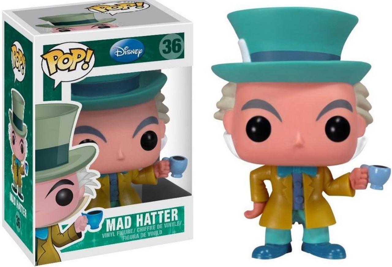 Alice in Wonderland Funko POP! Disney Mad Hatter Vinyl Figure #36 [Classic Version]