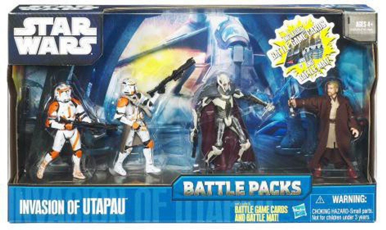 Star Wars Revenge of the Sith Battle Packs 2010 Invasion of Utapau Action Figure Set