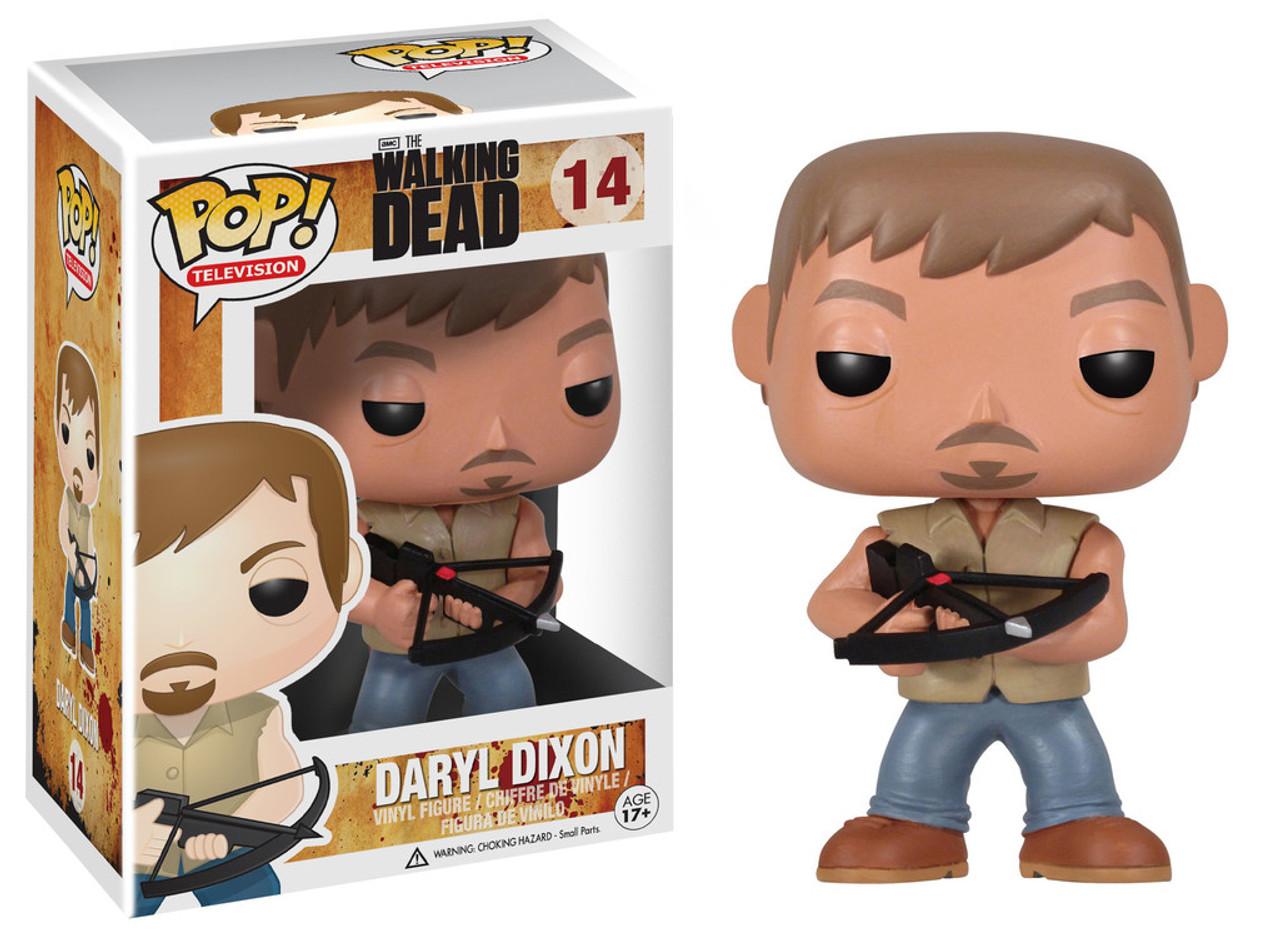 Walking Dead Funko POP! TV Daryl Dixon Vinyl Figure #14