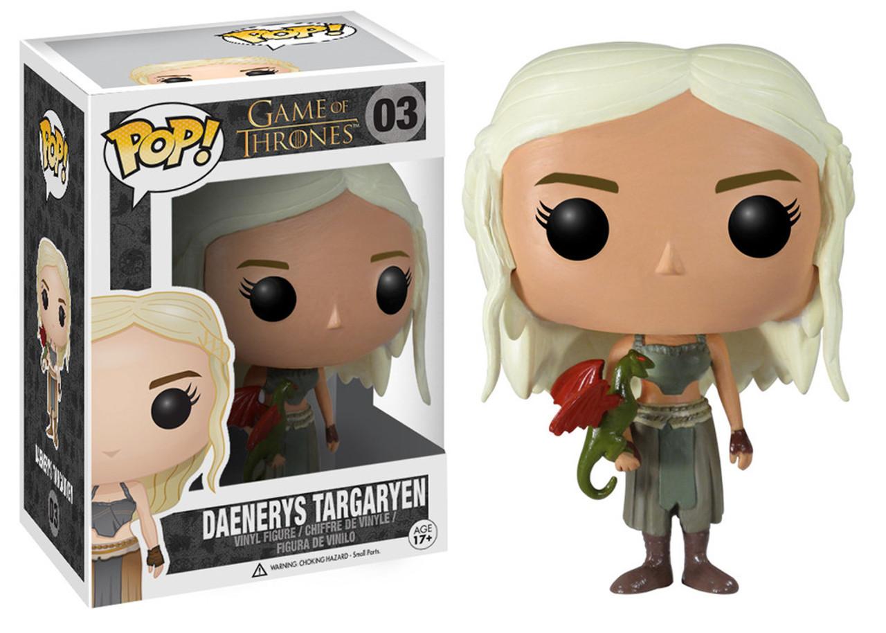 Funko POP! Game of Thrones Daenerys Targaryen Vinyl Figure #03 [Green Dragon]