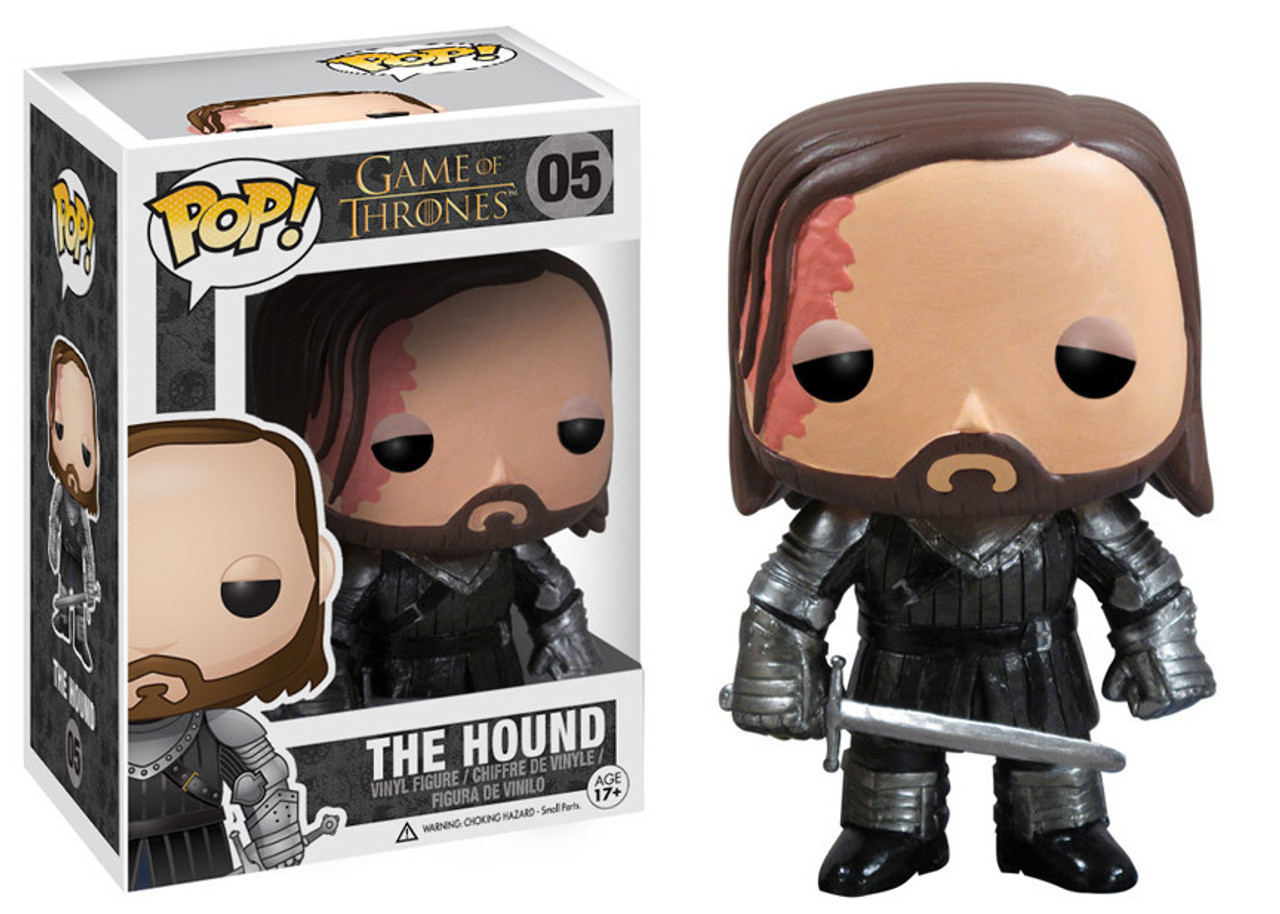 Funko POP! Game of Thrones The Hound Vinyl Figure #05