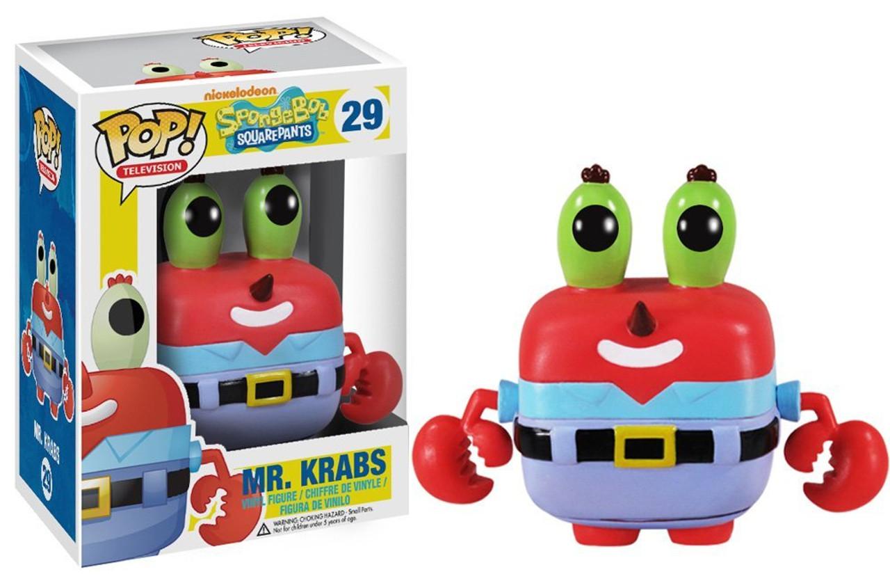 Spongebob Squarepants Funko POP! TV Mr. Krabs Vinyl Figure #29
