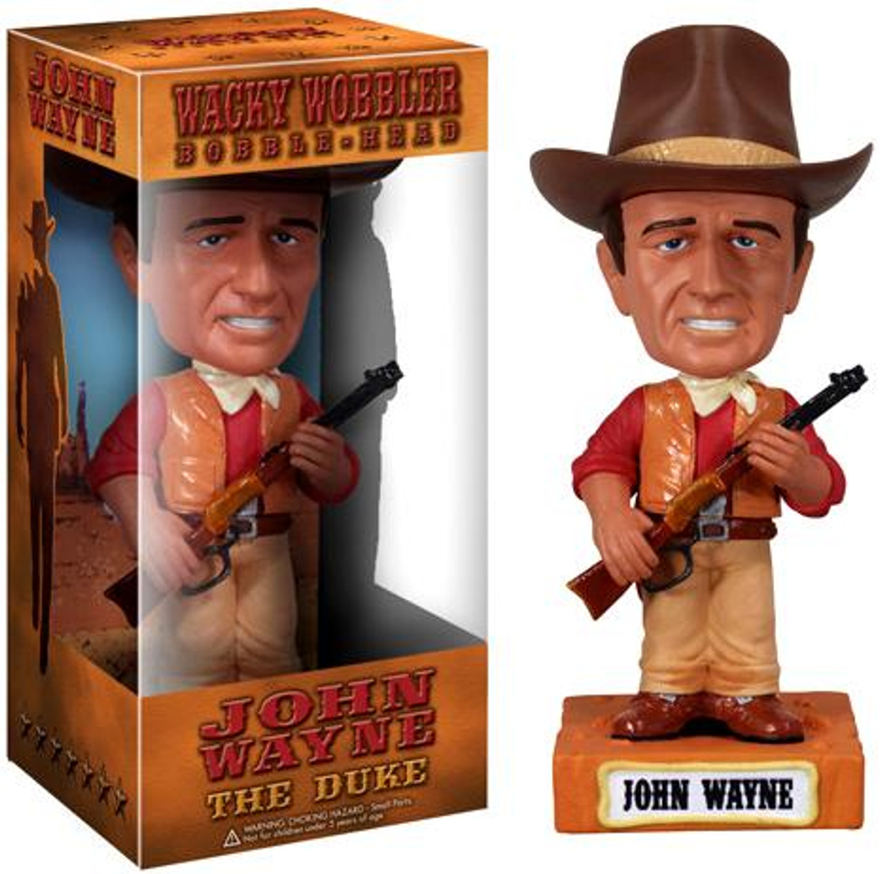 Funko Wacky Wobbler John Wayne Bobble Head [The Duke]