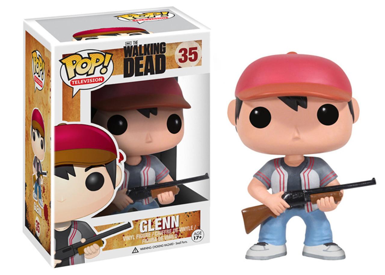 Walking Dead Funko POP! TV Glenn Vinyl Figure #35