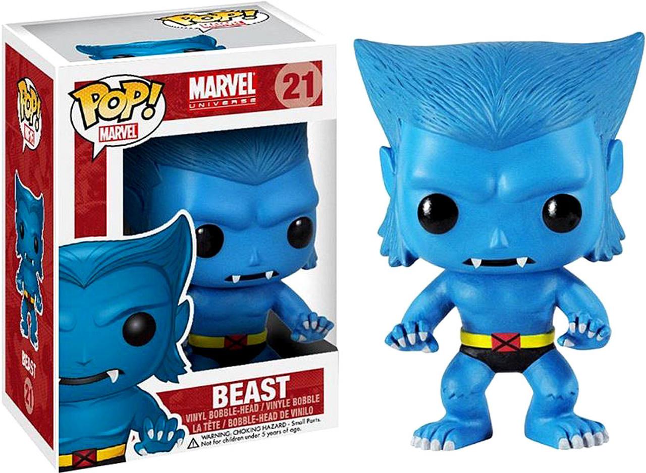 Marvel Universe Funko POP! Marvel Beast Vinyl Bobble Head #21