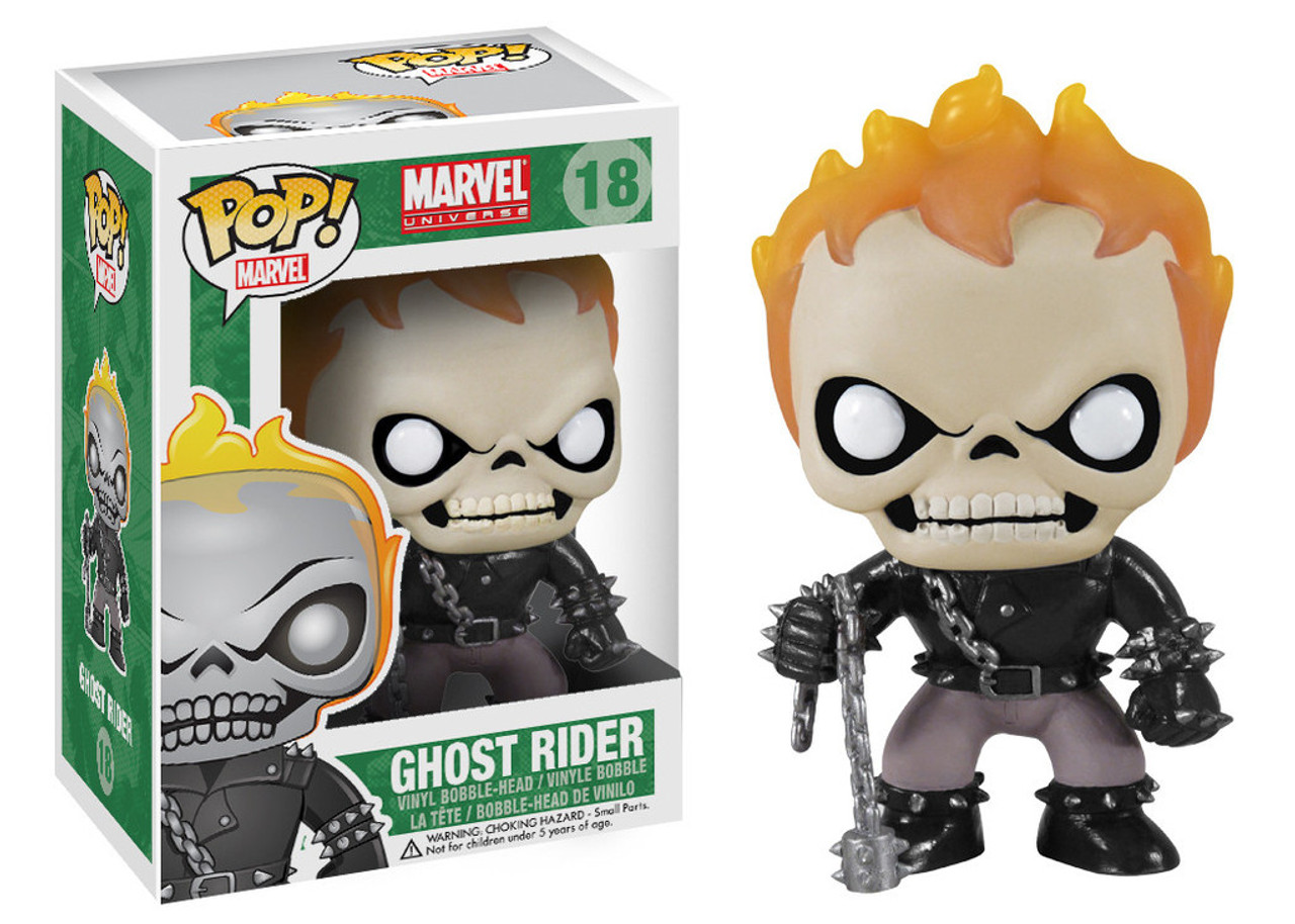 Marvel Universe Funko POP! Marvel Ghost Rider Vinyl Bobble Head #18