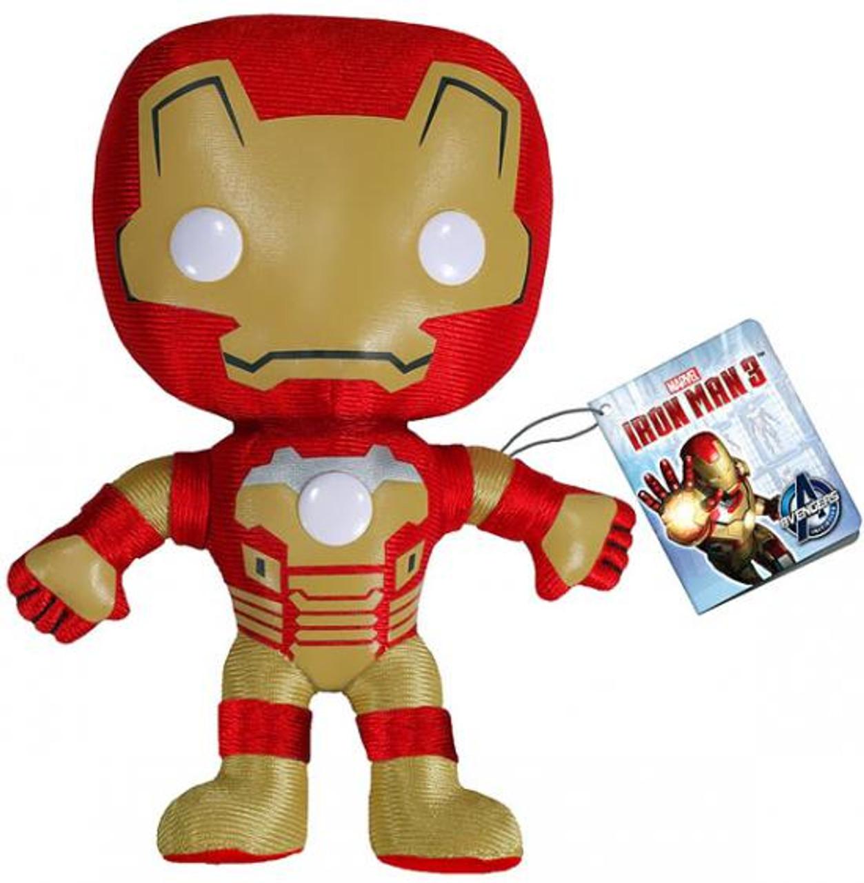 Funko Iron Man 3 Iron Man 5-Inch Plushie [Mark 42]