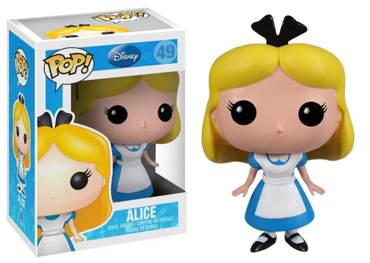 Alice in Wonderland Funko POP! Disney Alice Vinyl Figure #49
