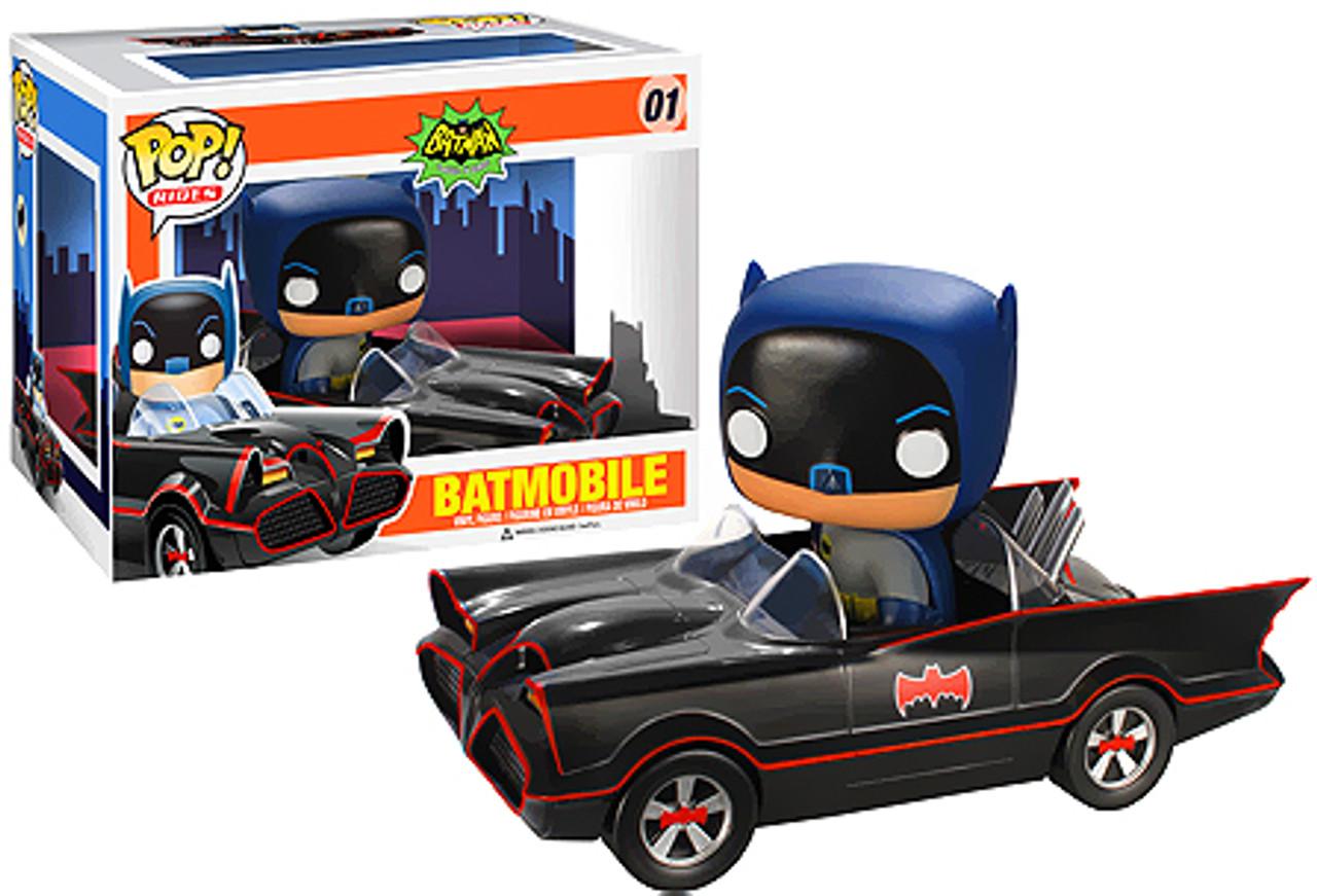 Batman 1966 TV Series Funko POP! TV Batmobile Vinyl Vehicle #1