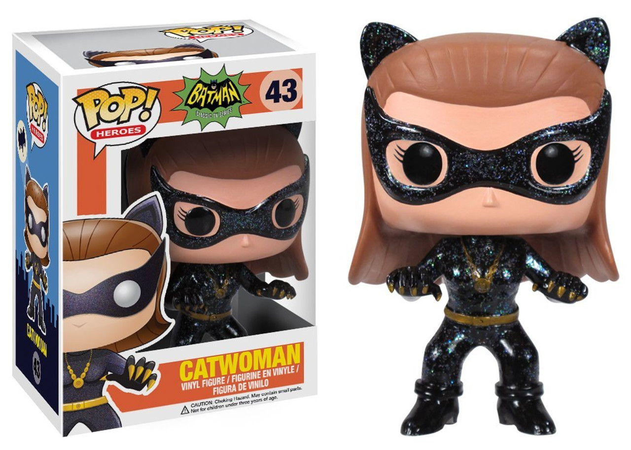 Batman 1966 TV Series Funko POP! Heroes Catwoman Vinyl Figure #43 [1966 TV Series]