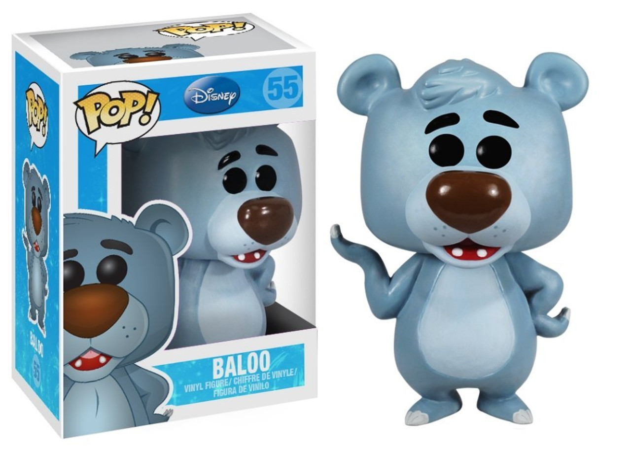 The Jungle Book Funko POP! Disney Baloo Vinyl Figure #55