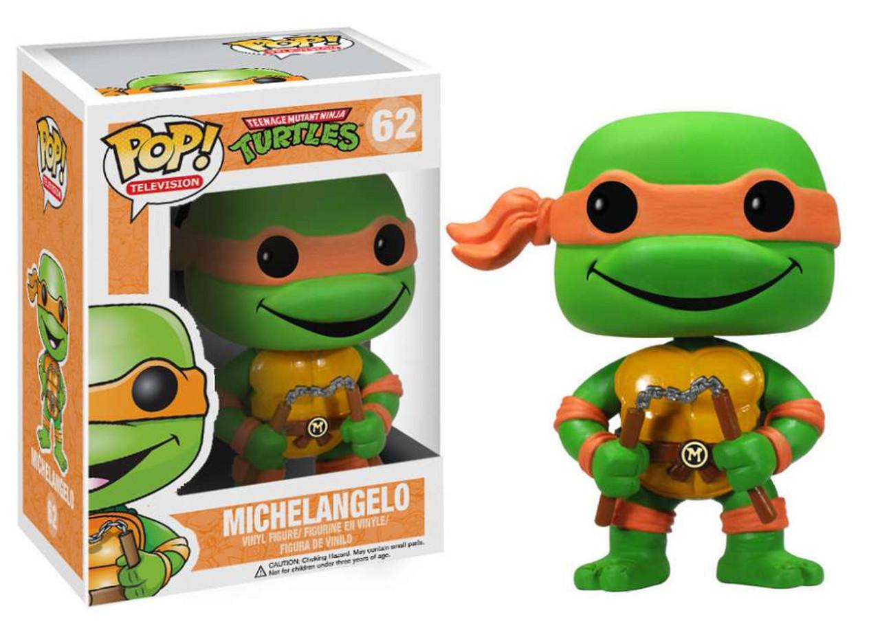 Teenage Mutant Ninja Turtles Funko POP! TV Michelangelo Vinyl Figure #62