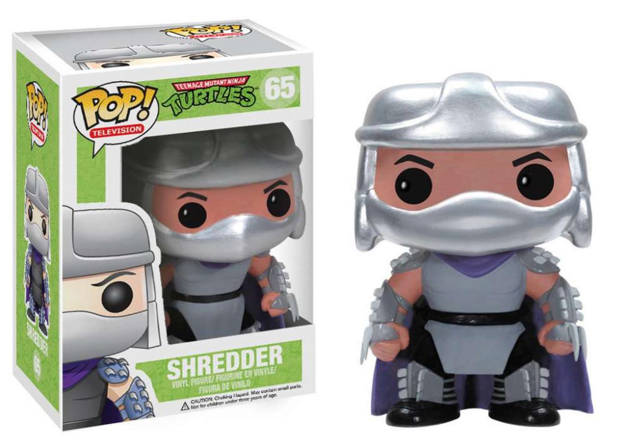 Teenage Mutant Ninja Turtles Funko POP! TV Shredder Vinyl Figure #65