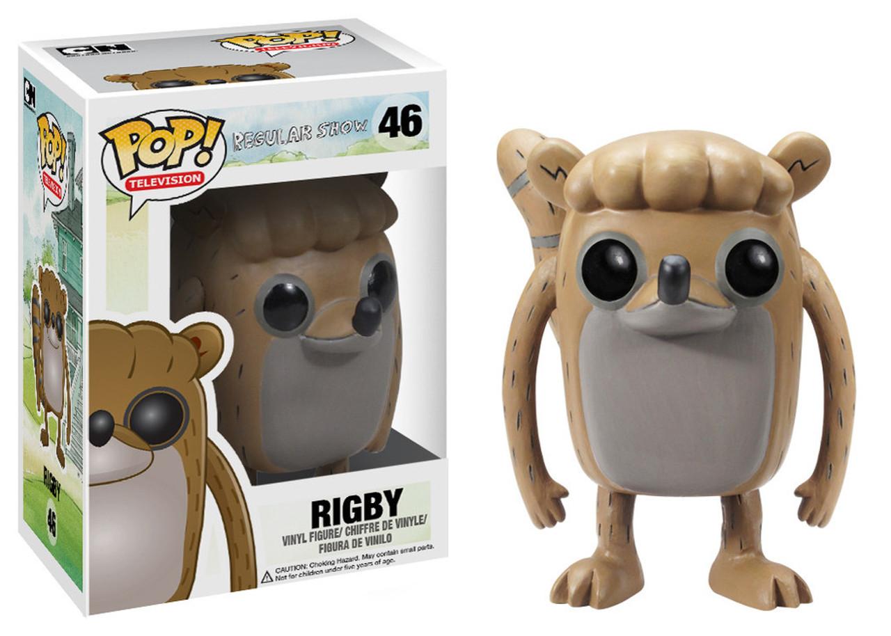 Cartoon Network Regular Show Funko POP! TV Rigby Vinyl Figure #46