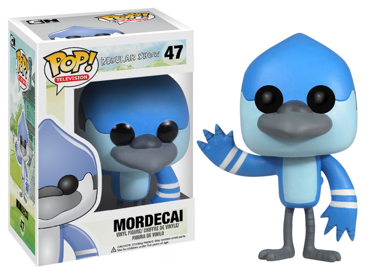 Cartoon Network Regular Show Funko POP! TV Mordecai Vinyl Figure #47