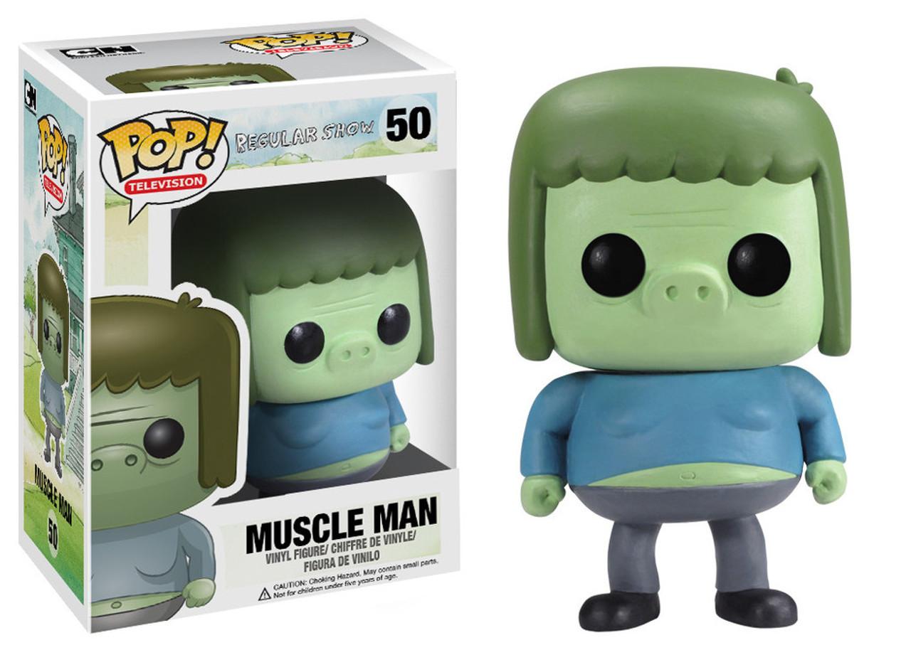 Cartoon Network Regular Show Funko POP! TV Muscle Man Vinyl Figure #50