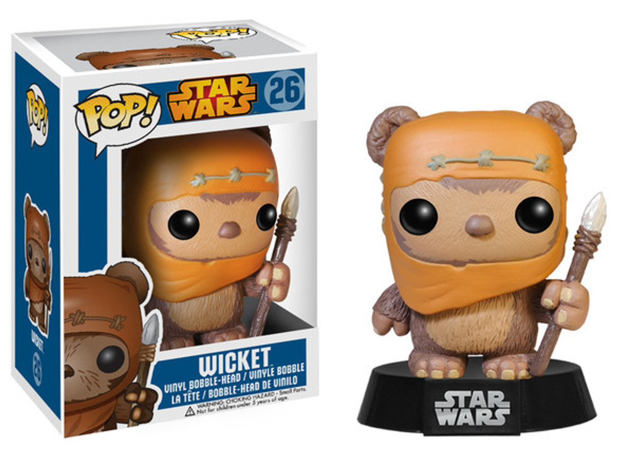 Funko POP! Star Wars Wicket Vinyl Bobble Head #26