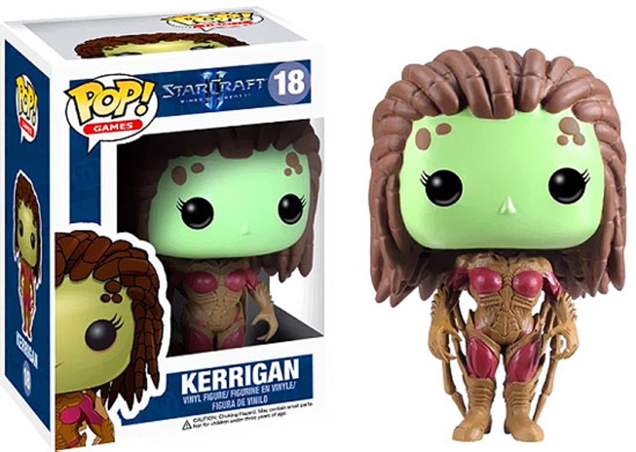 Starcraft II Funko POP! Games Queen of Blades Sarah Kerrigan Vinyl Figure #18