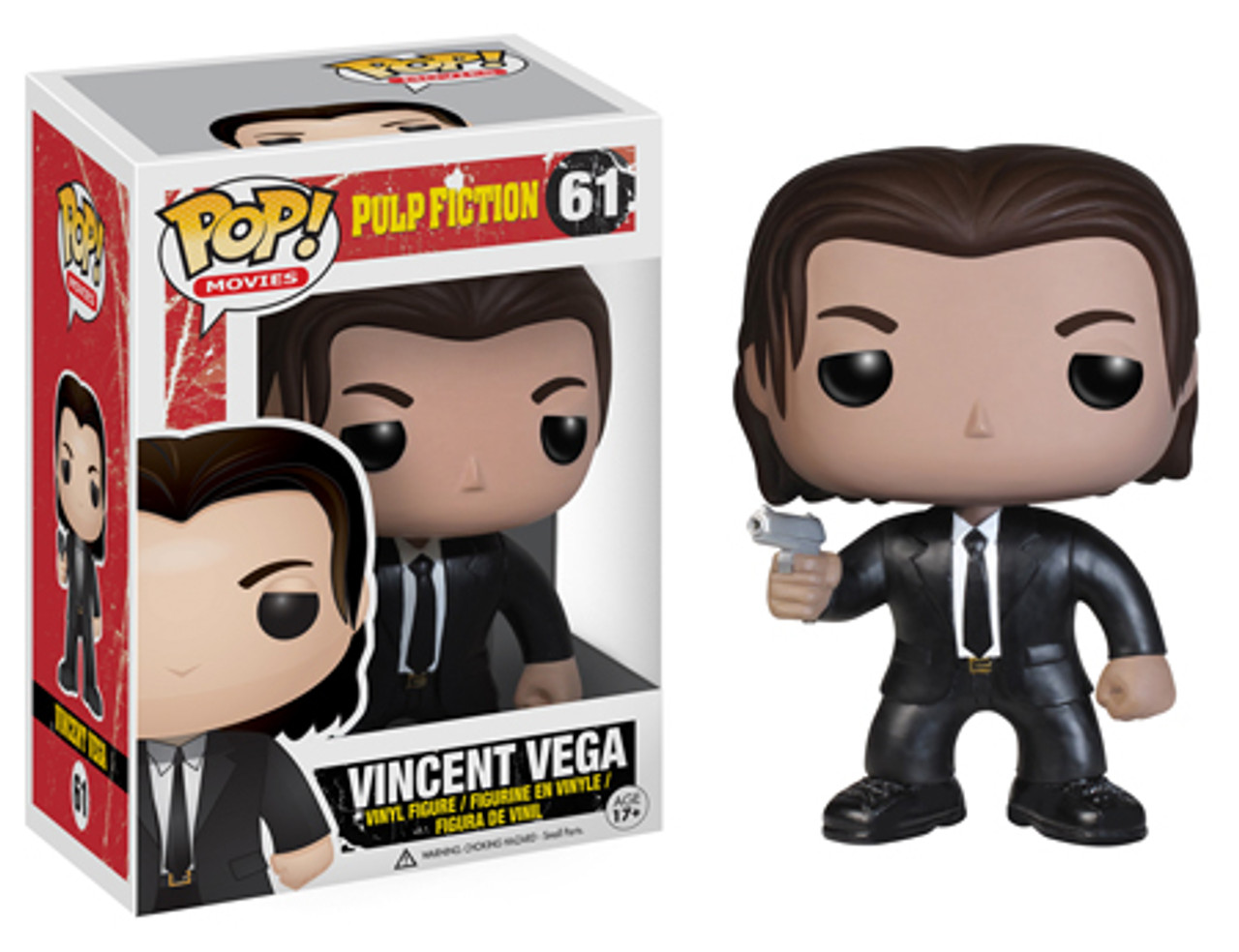 Pulp Fiction Funko POP! Movies Vincent Vega Vinyl Figure #61