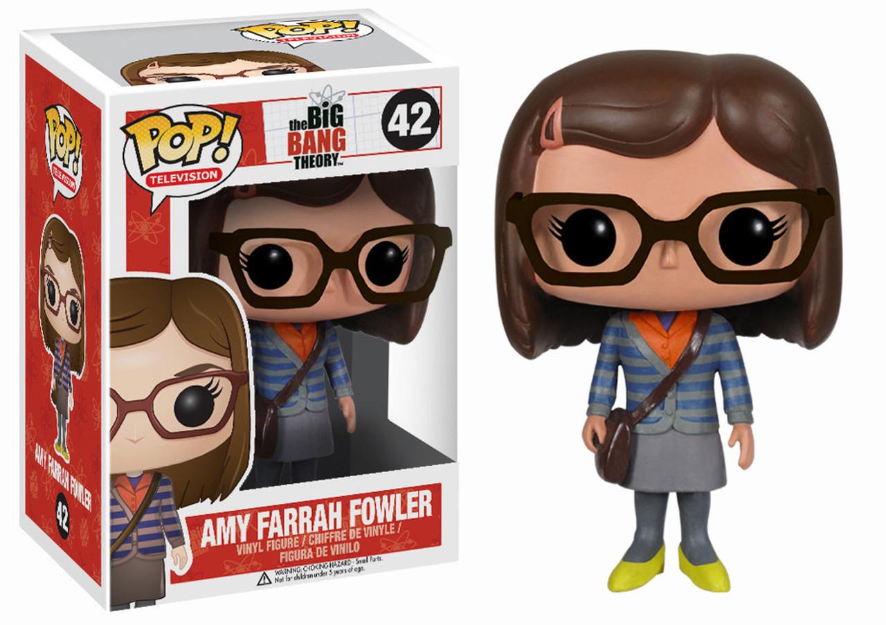 The Big Bang Theory Funko POP! TV Amy Farrah Fowler Vinyl Figure #42