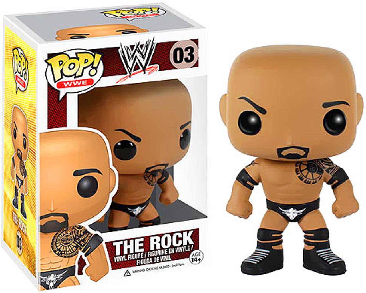 WWE Wrestling Funko POP! The Rock Vinyl Figure #03