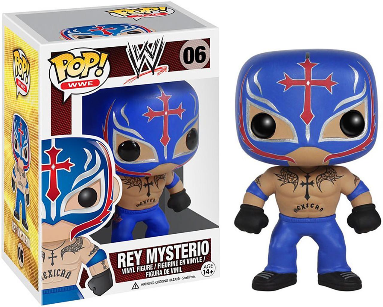 WWE Wrestling Funko POP! Rey Mysterio Vinyl Figure #06