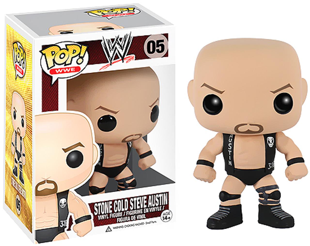 WWE Wrestling Funko POP! Stone Cold Steve Austin Vinyl Figure #05