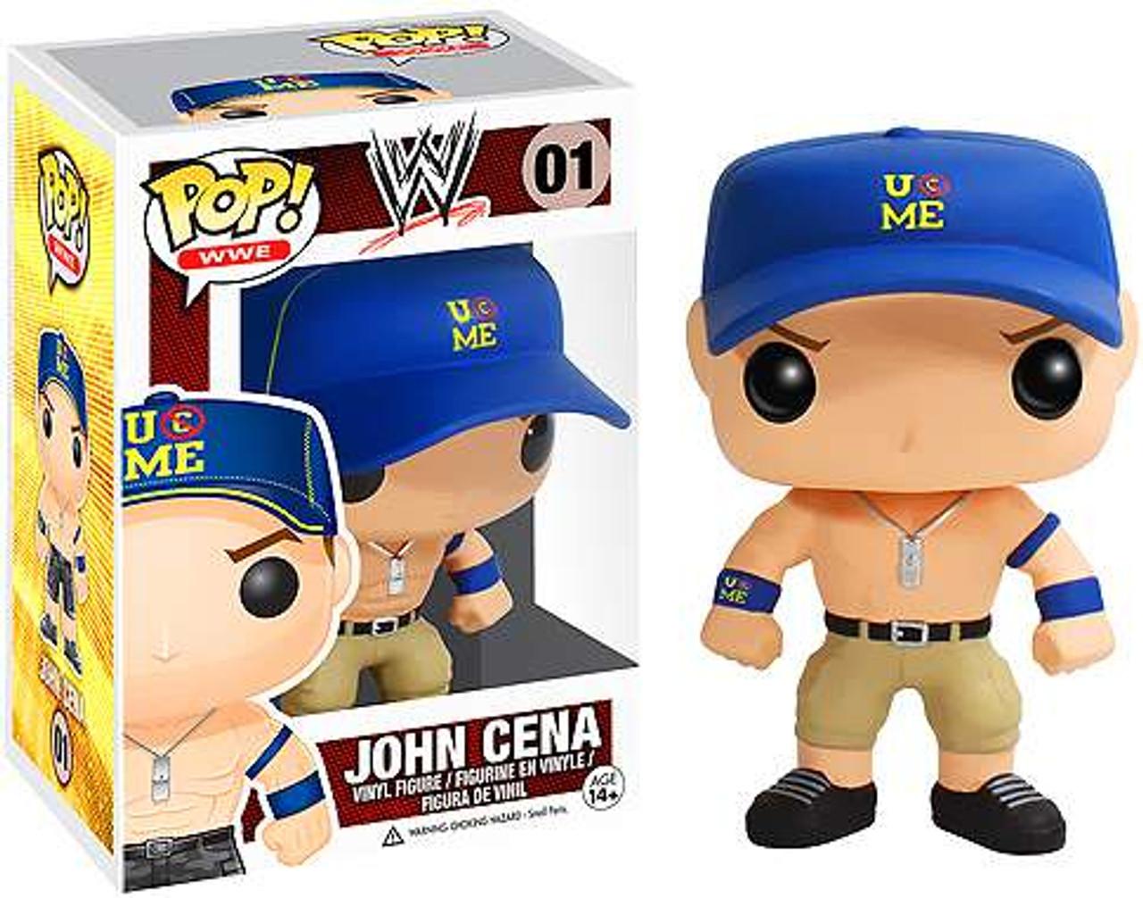WWE Wrestling Funko POP! John Cena Vinyl Figure #01 [Blue Hat]