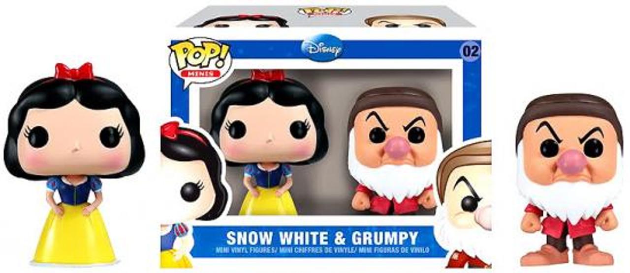 Disney Princess Funko POP! Disney Snow White & Grumpy Mini Figure 2-Pack #02