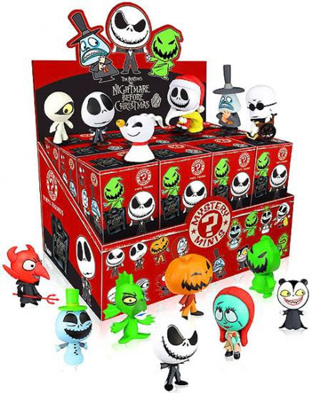 Funko The Nightmare Before Christmas Mystery Minis Nightmare Before Christmas Series 1 Mystery Box [24 Packs]