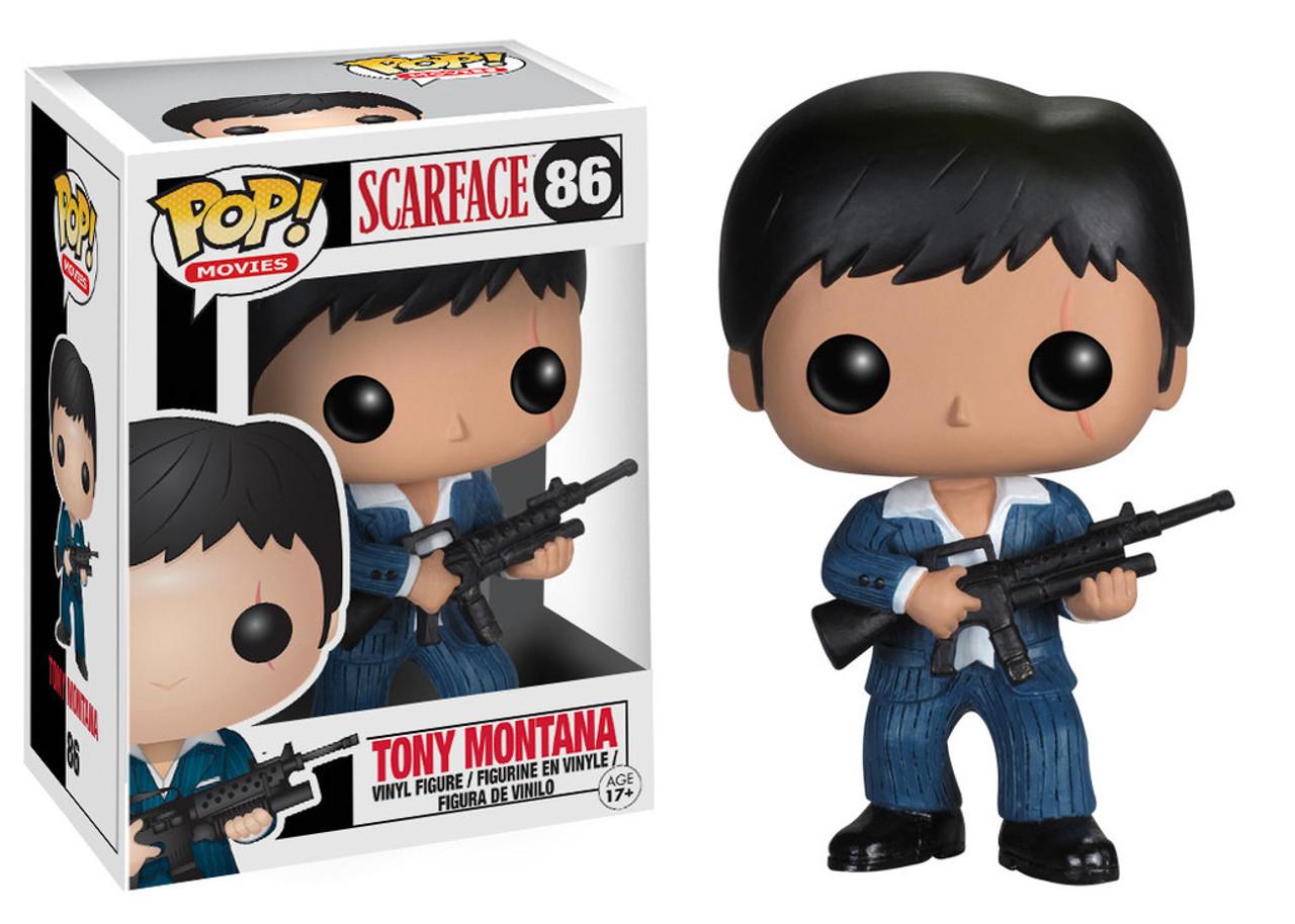 Scarface Funko POP! Movies Tony Montana Vinyl Figure #86