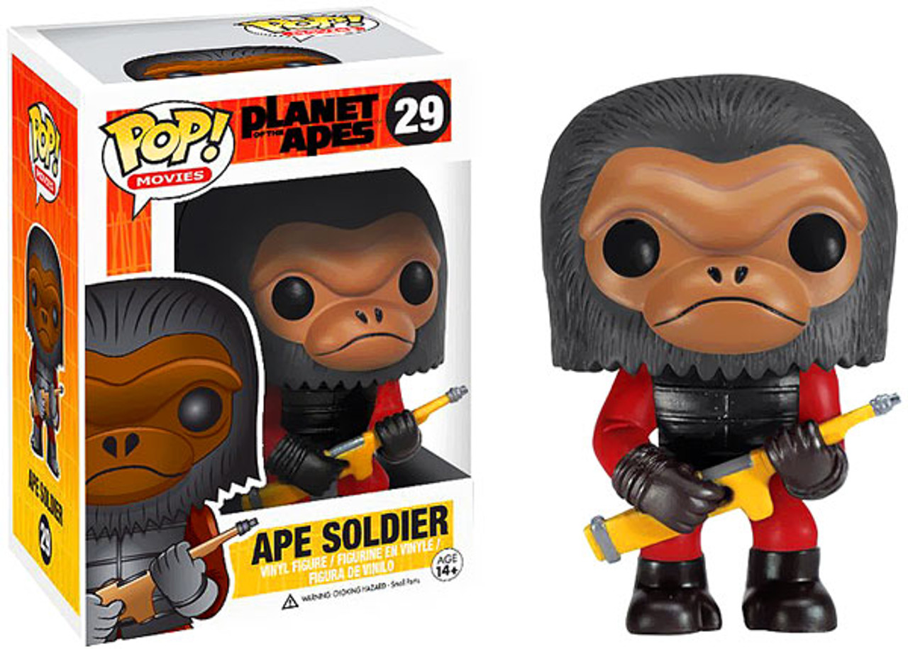 Planet of the Apes Funko POP! Movies Ape Soldier Vinyl Figure #29
