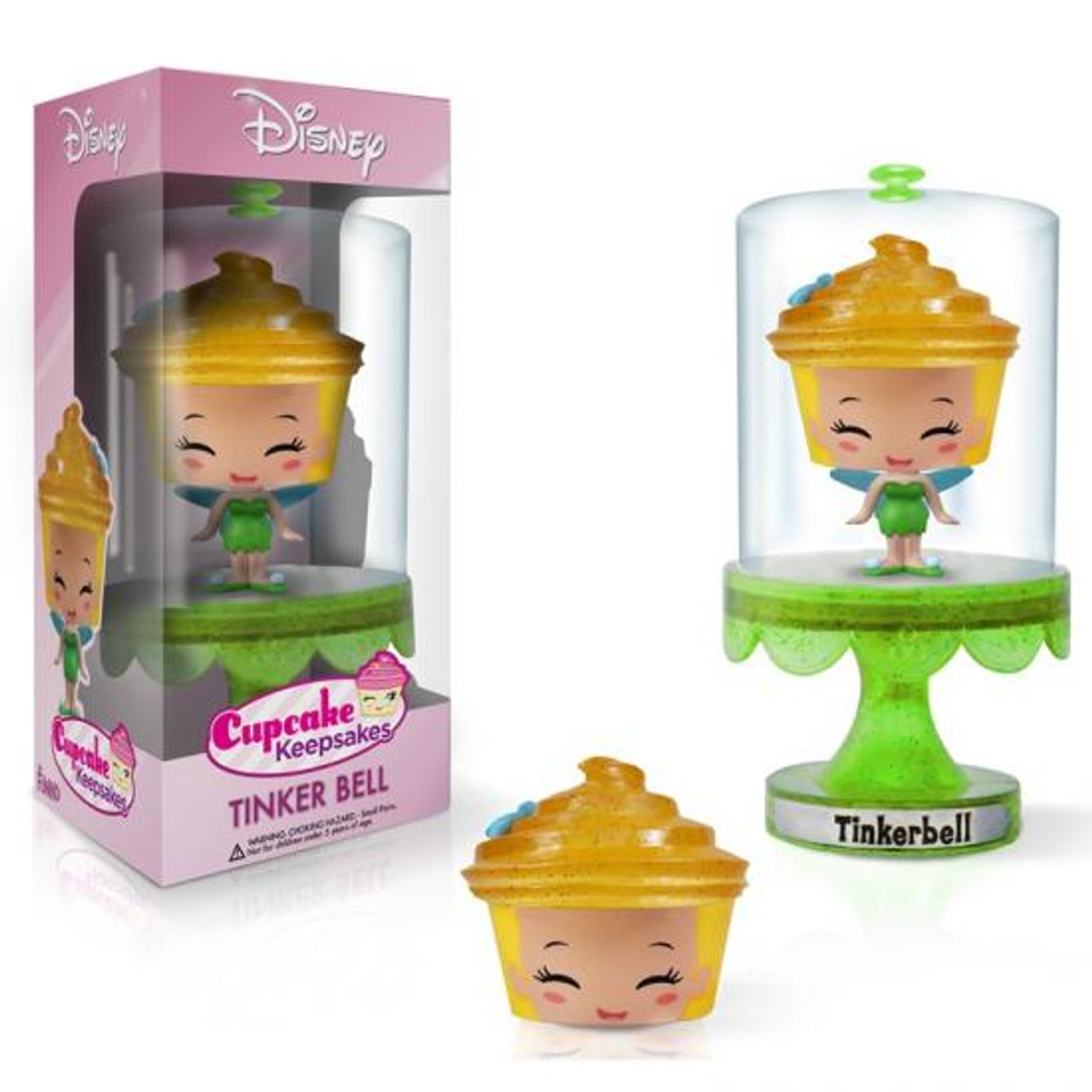 Funko Disney Fairies Cupcake Keepsakes Series 1 Tinker Bell Mini Figure [Peter Pan]