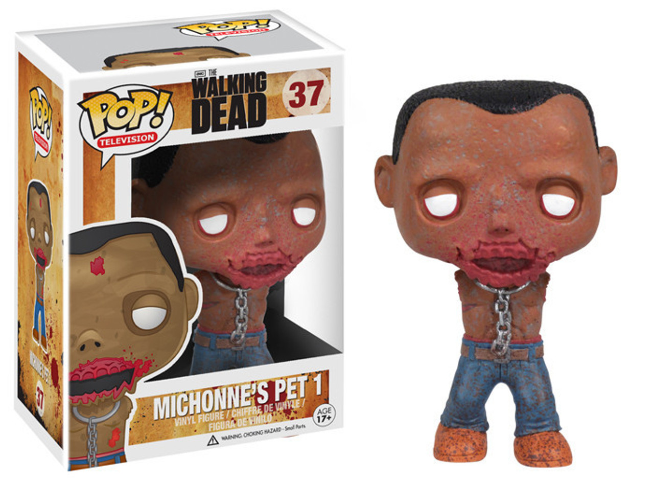 Walking Dead Funko POP! TV Michonne's Pet 1 Vinyl Figure #37