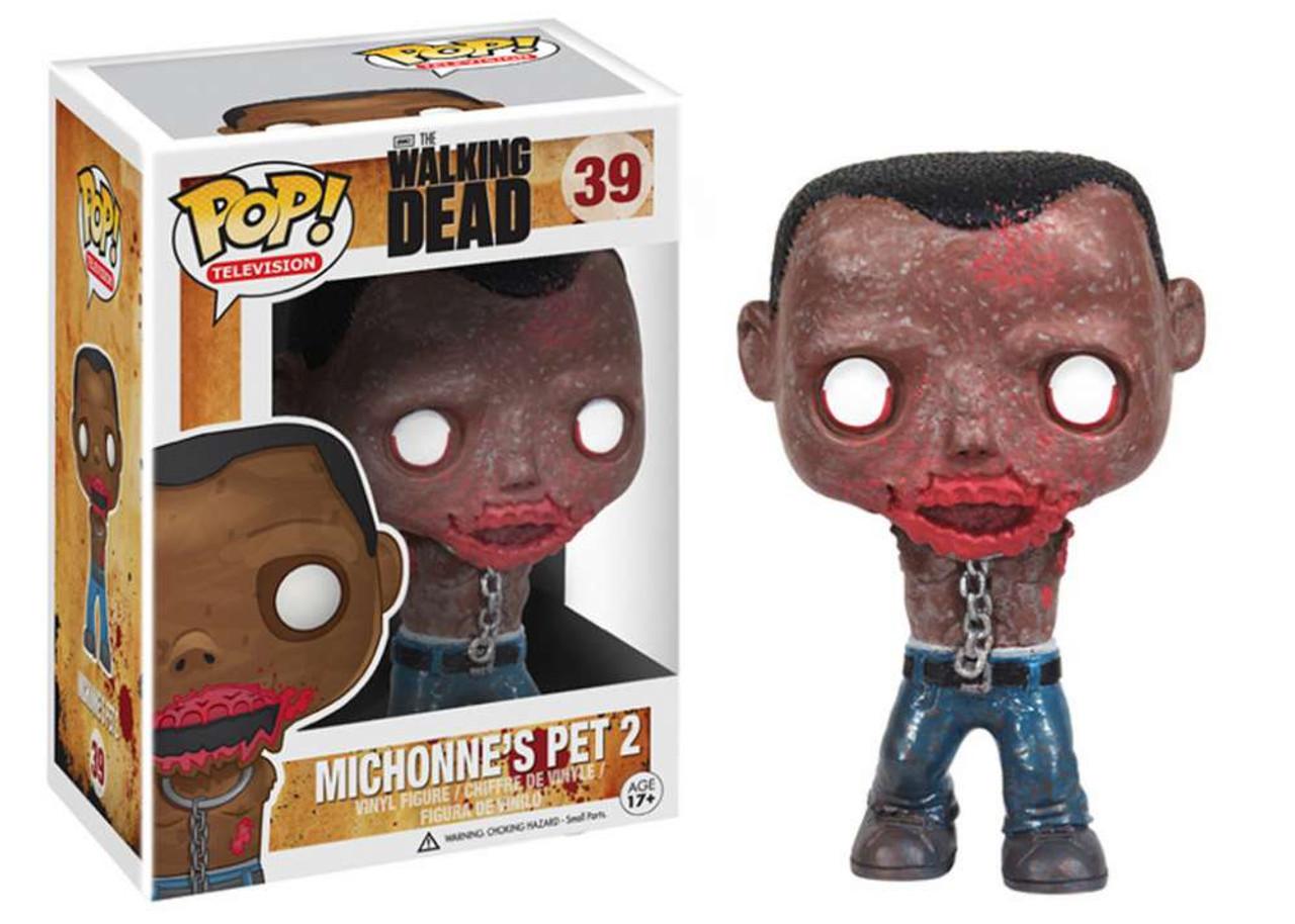 Walking Dead Funko POP! TV Michonne's Pet 2 Vinyl Figure #39