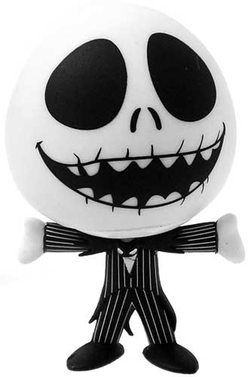 Funko The Nightmare Before Christmas Jack Skellington Vinyl Mini Figure [Laughing, Mouth Open, Arms Out Loose]