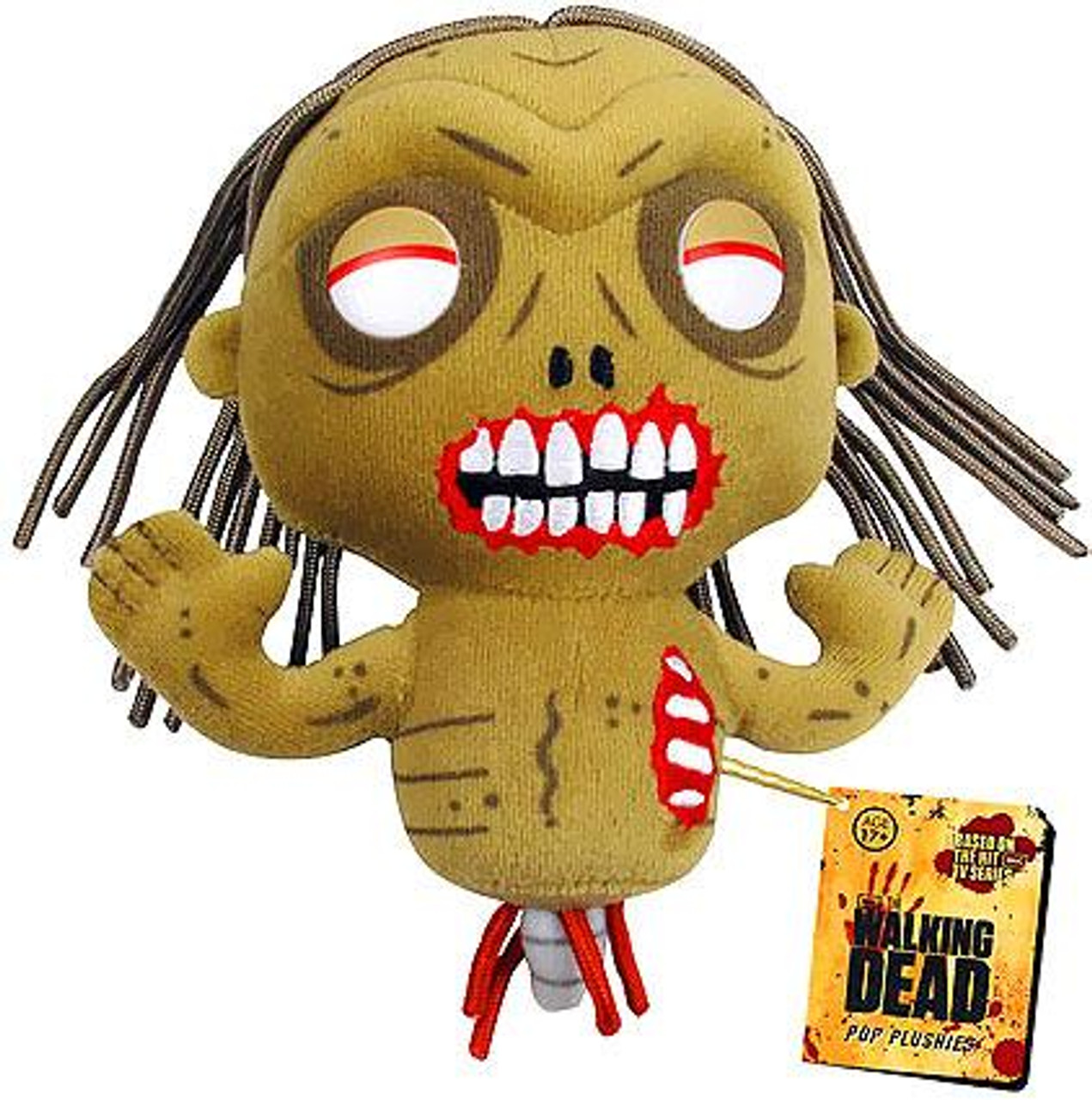 Funko Walking Dead Bicycle Girl Zombie 5-Inch Plushie