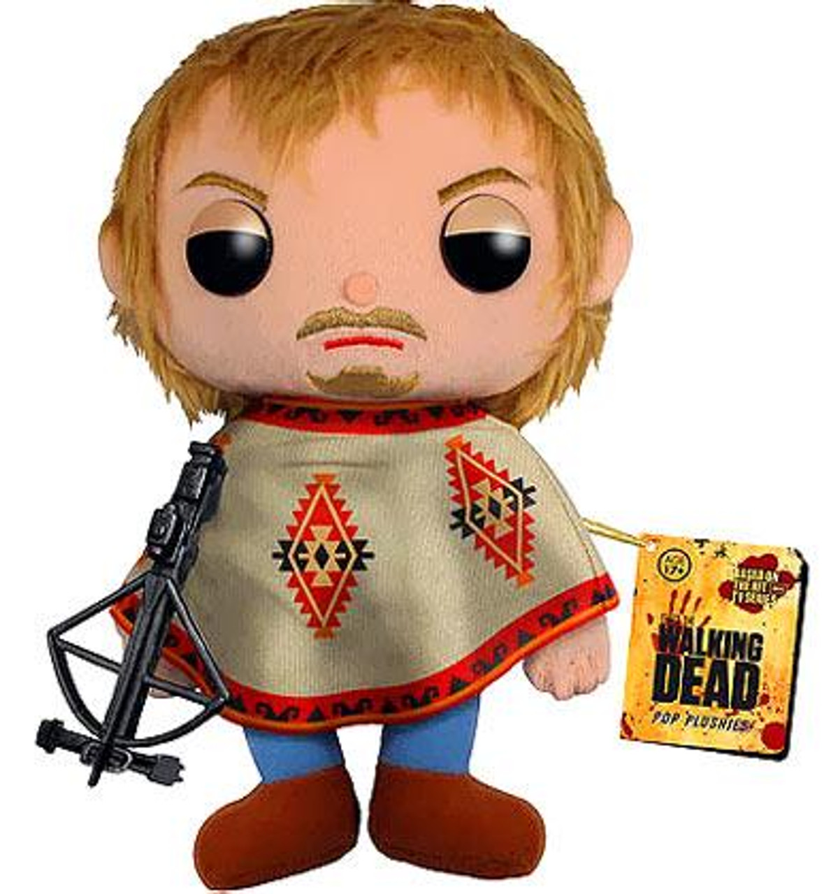 Funko Walking Dead Daryl Dixon 5-Inch Plushie