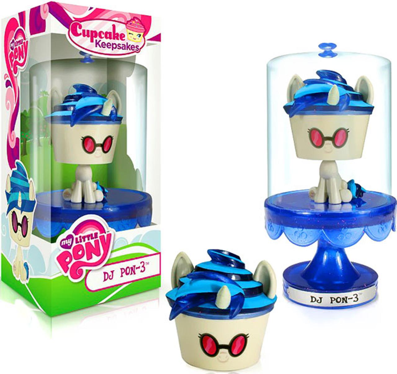 Funko My Little Pony Cupcake Keepsakes DJ Pon-3 Cupcake Keepsake