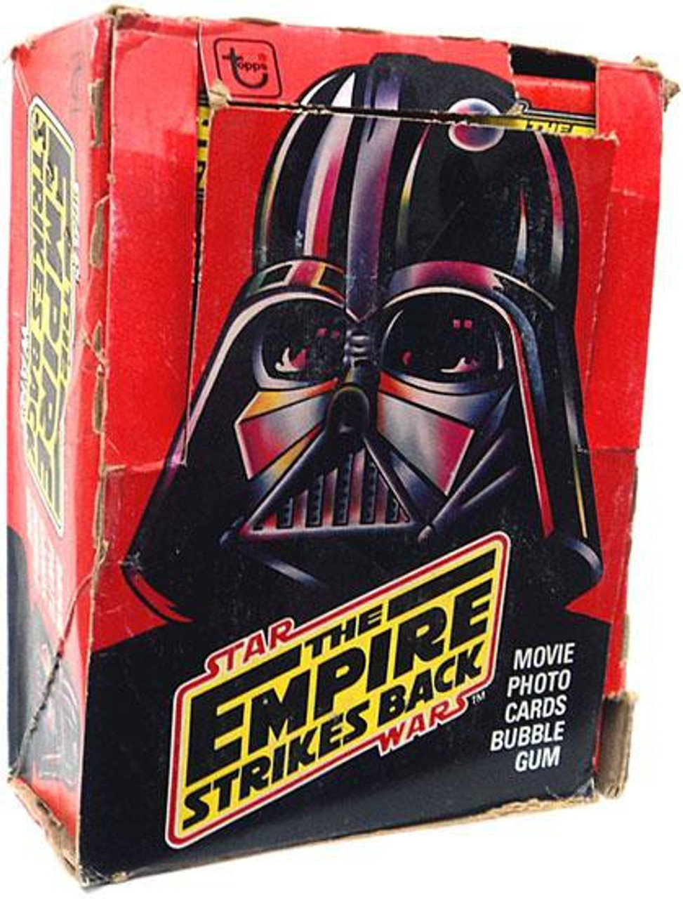Star Wars The Empire Strikes Back Trading Card Box