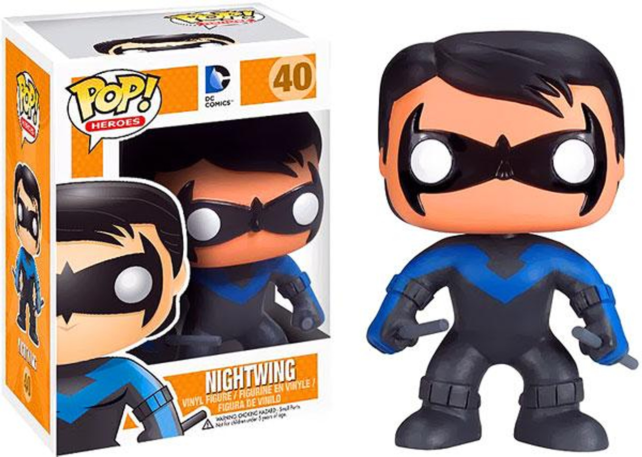DC Comics Funko POP! Heroes Nightwing Vinyl Figure #40