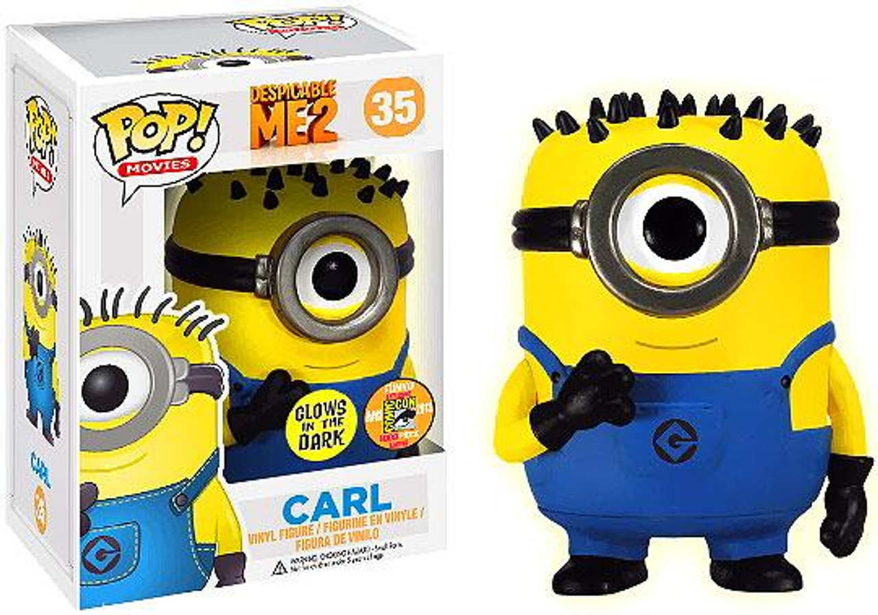Despicable Me 2 Funko POP! Movies Carl Exclusive Vinyl Figure #35 [Glow in the Dark]