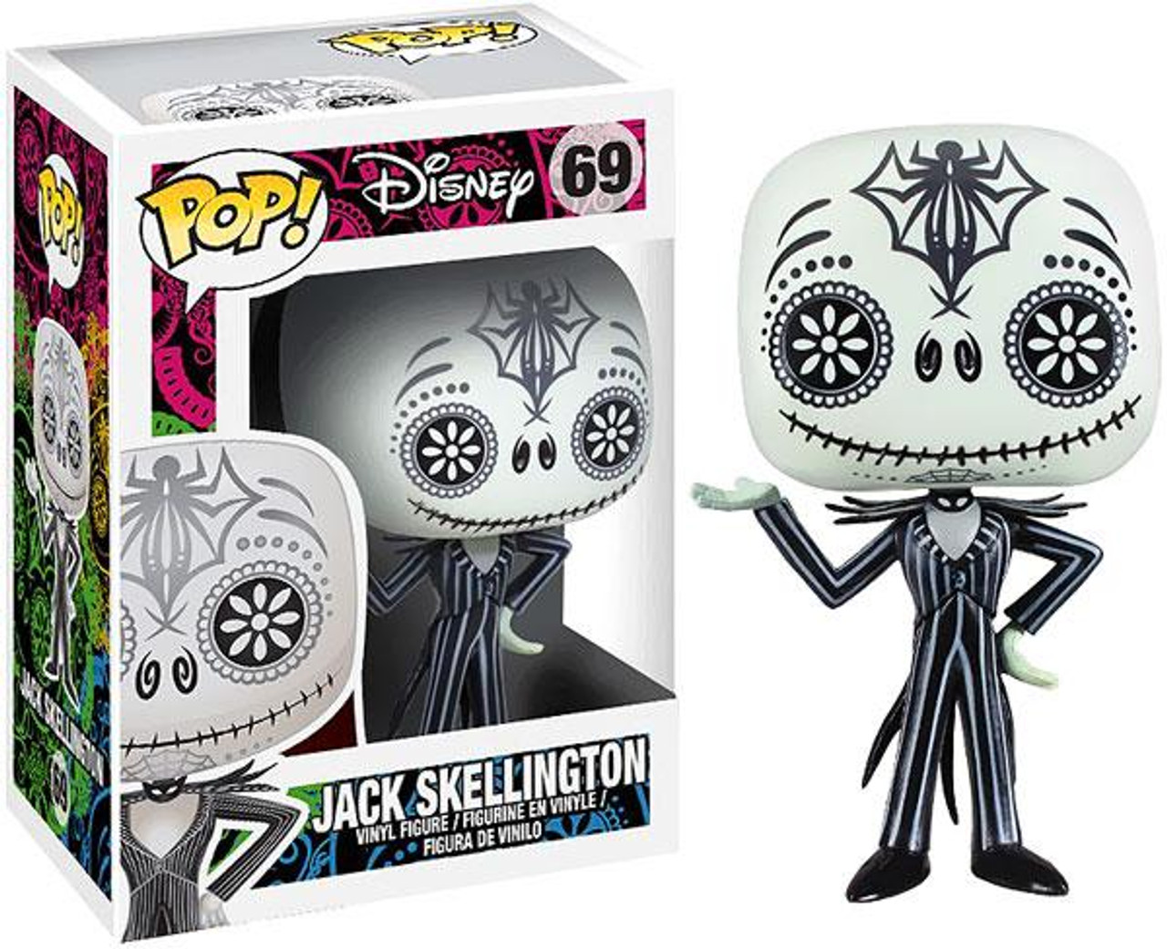 The Nightmare Before Christmas Funko POP! Disney Jack Skellington Vinyl Figure #69 [Day of the Dead]