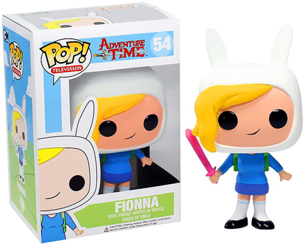 Adventure Time Funko POP! TV Fionna Vinyl Figure #54