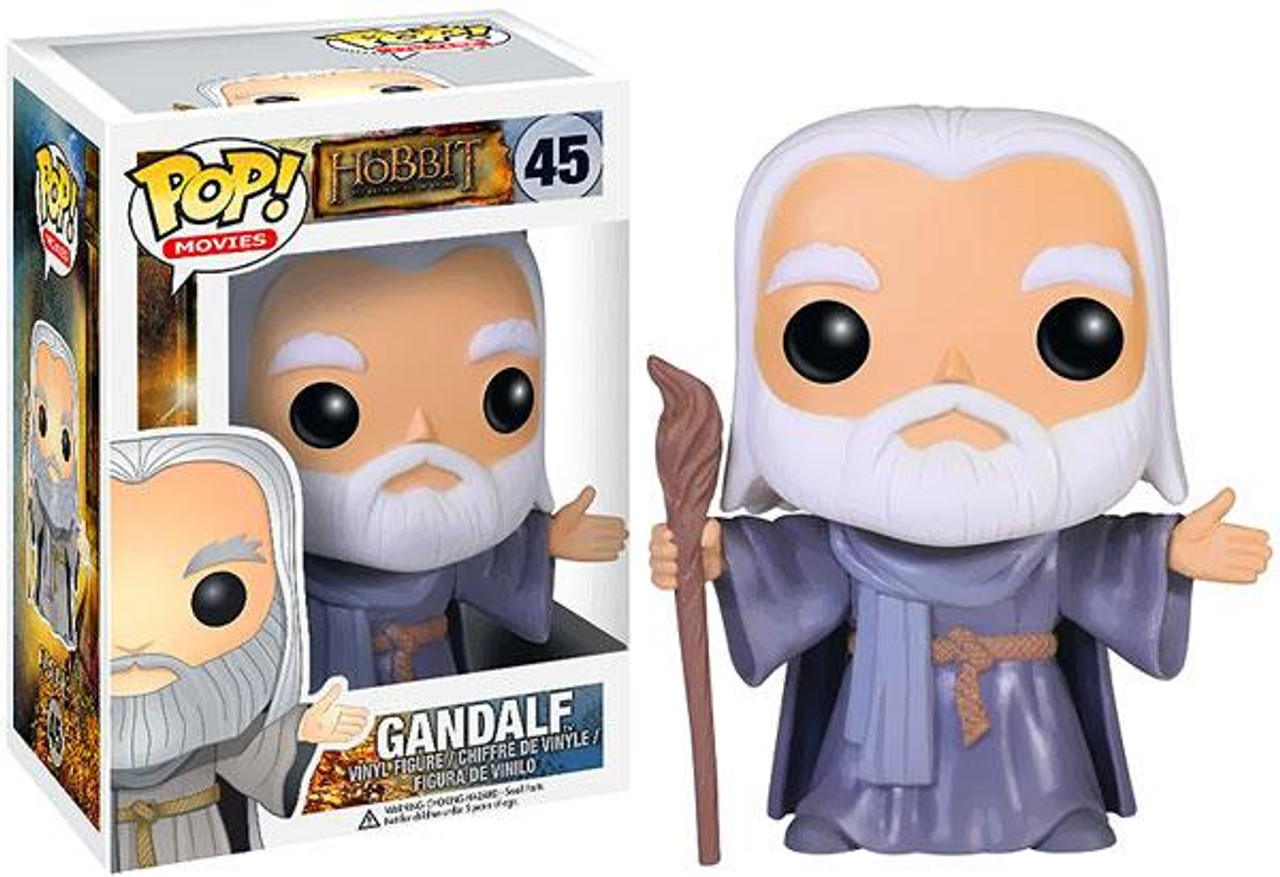 The Hobbit The Desolation of Smaug Funko POP! Movies Gandalf Vinyl Figure #45 [No Hat]
