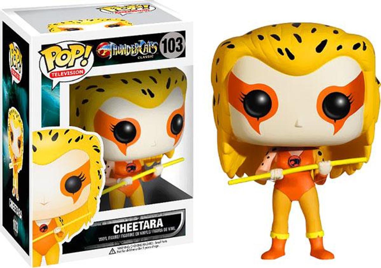 Thundercats Classic Funko POP! TV Cheetara Vinyl Figure #103